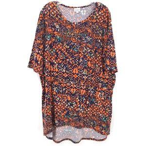 NWOT LuLaRoe print t shirt
